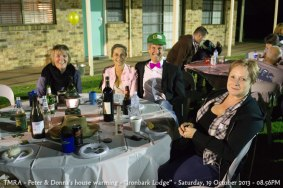 "TMRA - Peter & Donna's house warming - ""Ironbark Lodge"" - Saturday, 19 October 2013 - 08.56PM"