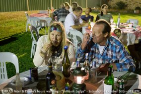 "TMRA - Peter & Donna's house warming - ""Ironbark Lodge"" - Saturday, 19 October 2013 - 08.57PM"