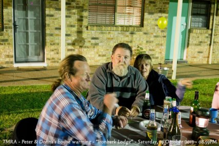 "TMRA - Peter & Donna's house warming - ""Ironbark Lodge"" - Saturday, 19 October 2013 - 08.59PM"