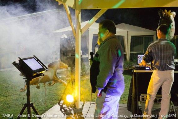 "TMRA - Peter & Donna's house warming - ""Ironbark Lodge"" - Saturday, 19 October 2013 - 09.36PM"