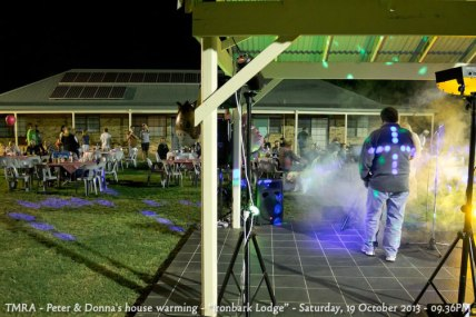 "TMRA - Peter & Donna's house warming - ""Ironbark Lodge"" - Saturday, 19 October 2013 - 09.36PM"