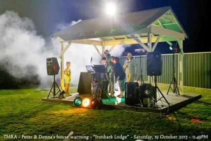 "TMRA - Peter & Donna's house warming - ""Ironbark Lodge"" - Saturday, 19 October 2013 - 11.49PM"