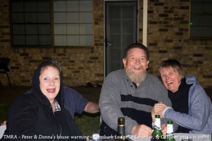 "TMRA - Peter & Donna's house warming - ""Ironbark Lodge"" - Saturday, 19 October 2013 - 11.50PM"