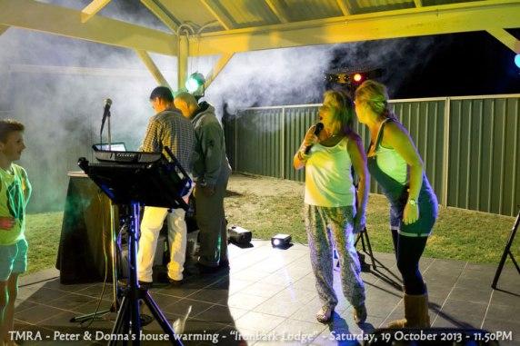 "TMRA - Peter & Donna's house warming - ""Ironbark Lodge"" - Saturday, 19 October 2013 - 11.50PM"