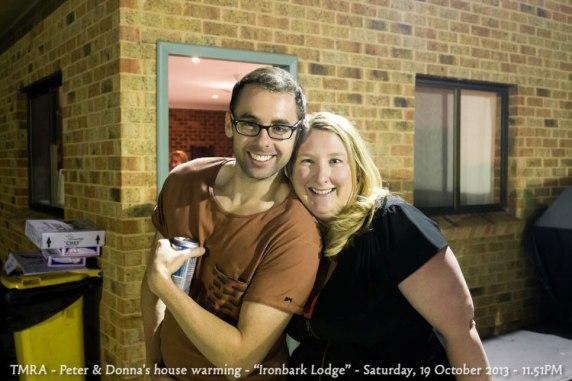 "TMRA - Peter & Donna's house warming - ""Ironbark Lodge"" - Saturday, 19 October 2013 - 11.51PM"