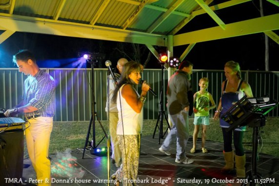 "TMRA - Peter & Donna's house warming - ""Ironbark Lodge"" - Saturday, 19 October 2013 - 11.52PM"
