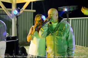 "TMRA - Peter & Donna's house warming - ""Ironbark Lodge"" - Saturday, 19 October 2013 - 11.53PM"