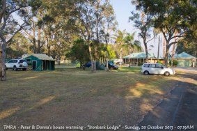 "TMRA - Peter & Donna's house warming - ""Ironbark Lodge"" - Sunday, 20 October 2013 - 07.19AM"