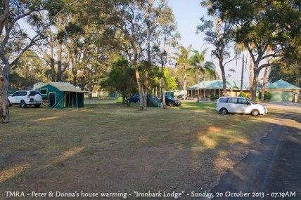 "TMRA - Peter & Donna's house warming - ""Ironbark Lodge"" - Sunday, 20 October 2013 - 07.19AM"