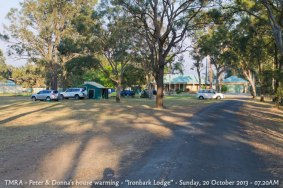 "TMRA - Peter & Donna's house warming - ""Ironbark Lodge"" - Sunday, 20 October 2013 - 07.20AM"