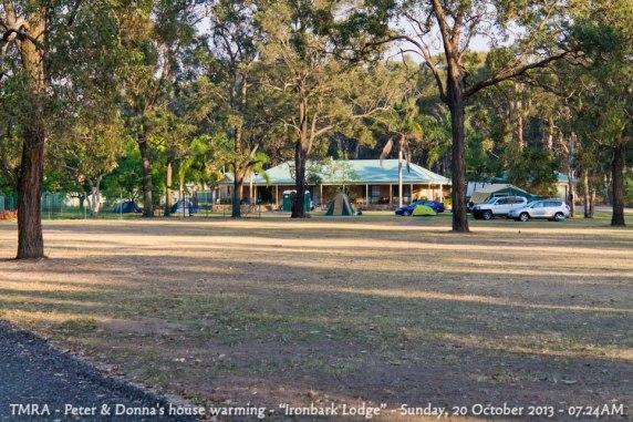 "TMRA - Peter & Donna's house warming - ""Ironbark Lodge"" - Sunday, 20 October 2013 - 07.24AM"