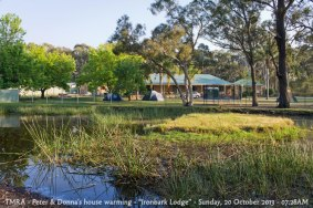 "TMRA - Peter & Donna's house warming - ""Ironbark Lodge"" - Sunday, 20 October 2013 - 07.28AM"