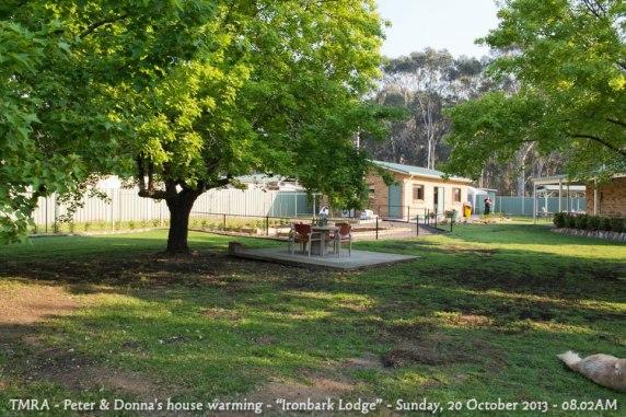 "TMRA - Peter & Donna's house warming - ""Ironbark Lodge"" - Sunday, 20 October 2013 - 08.02AM"