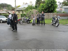 TMRA Kitchener - Saturday, 6 November 2010 - 11.58AM