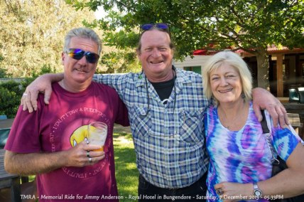 TMRA - Memorial Ride for Jimmy Anderson - Royal Hotel in Bungendore - Saturday, 7 December 2013 - 05.33PM