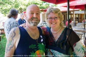 TMRA - Memorial Ride for Jimmy Anderson - Royal Hotel in Bungendore - Saturday, 7 December 2013 - 05.40PM
