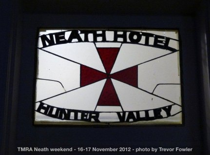 TMRA Neath weekend - 16-17 November 2012
