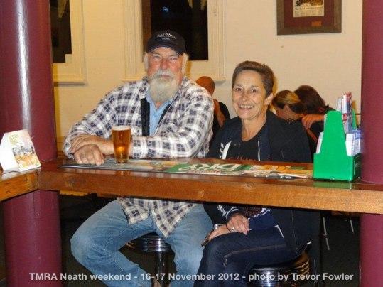 TMRA Neath weekend - 16-17 November 2012