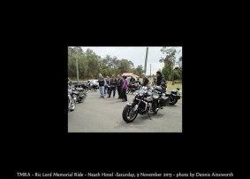 TMRA - Ric Lord Memorial Ride - Neath Hotel -Saturday, 9 November 2013