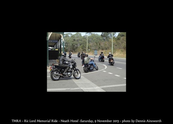 TMRA - Ric Lord Memorial Ride - Neath Hotel -Saturday, 9 November 2013
