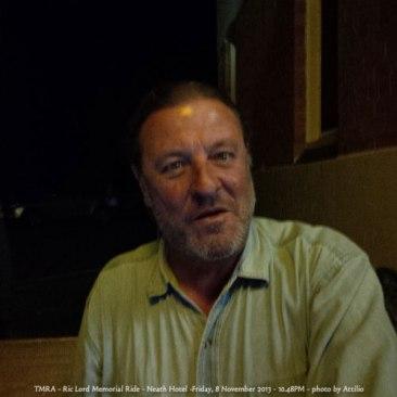TMRA - Ric Lord Memorial Ride - Neath Hotel -Friday, 8 November 2013 - 10.48PM