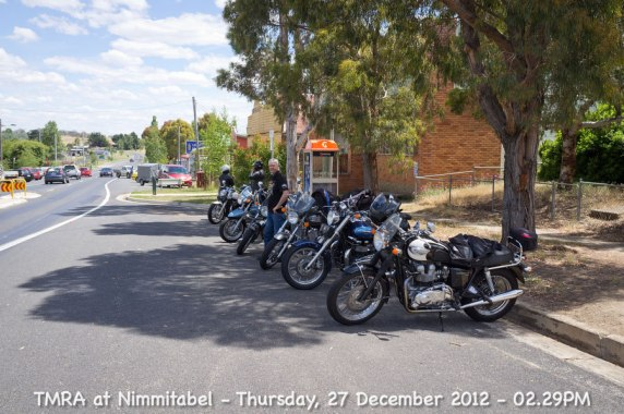TMRA at Nimmitabel - Thursday, 27 December 2012 - 02.29PM