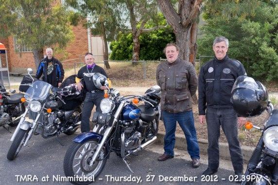 TMRA at Nimmitabel - Thursday, 27 December 2012 - 02.39PM