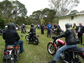 Aussie Triples Rally - Saturday, 17 August 2013 - 12.10PM