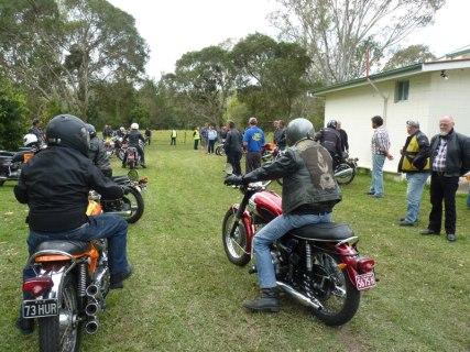 Aussie Triples Rally - Saturday, 17 August 2013 - 12.10PM