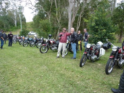 Aussie Triples Rally - Saturday, 17 August 2013 - 12.54PM