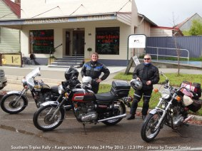 Southern Triples Rally - Kangaroo Valley - Friday, 24 May 2013 - 12.31PM