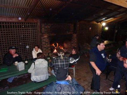 Southern Triples Rally - Kangaroo Valley - Friday, 24 May 2013 - 06.55PM