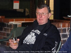 Southern Triples Rally - Kangaroo Valley - Friday, 24 May 2013 - 06.57PM