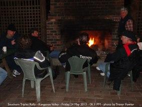 Southern Triples Rally - Kangaroo Valley - Friday, 24 May 2013 - 08.31PM