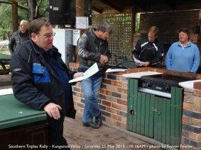Southern Triples Rally - Kangaroo Valley - Saturday, 25 May 2013 - 10.16AM