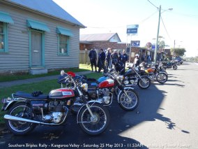 Southern Triples Rally - Kangaroo Valley - Saturday, 25 May 2013 - 11.53AM
