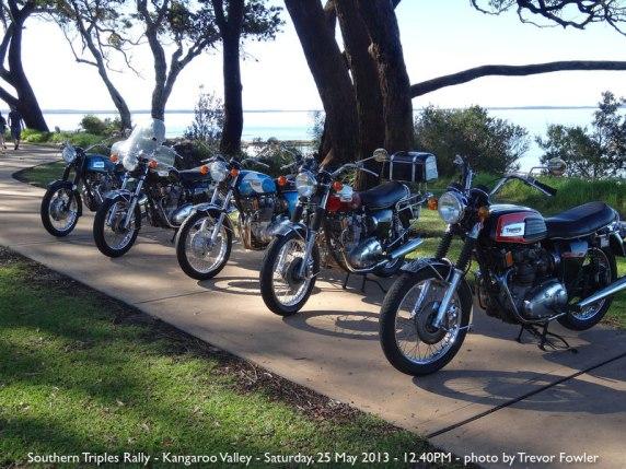 Southern Triples Rally - Kangaroo Valley - Saturday, 25 May 2013 - 12.40PM