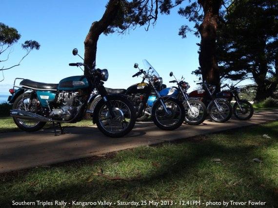 Southern Triples Rally - Kangaroo Valley - Saturday, 25 May 2013 - 12.41PM