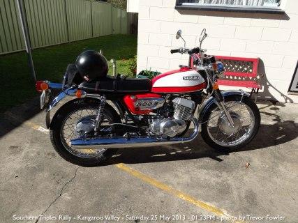 Southern Triples Rally - Kangaroo Valley - Saturday, 25 May 2013 - 01.23PM