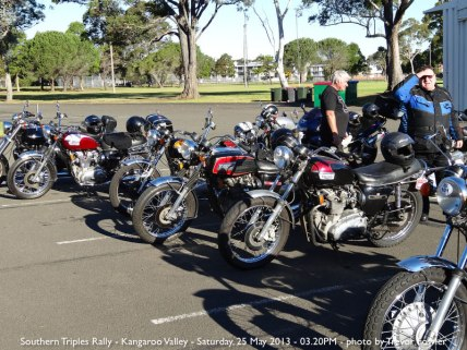 Southern Triples Rally - Kangaroo Valley - Saturday, 25 May 2013 - 03.20PM