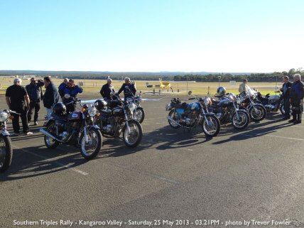 Southern Triples Rally - Kangaroo Valley - Saturday, 25 May 2013 - 03.21PM
