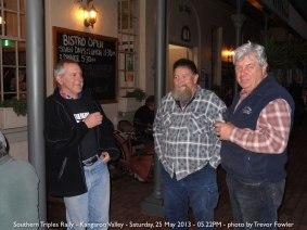 Southern Triples Rally - Kangaroo Valley - Saturday, 25 May 2013 - 05.22PM