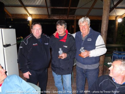 Southern Triples Rally - Kangaroo Valley - Saturday, 25 May 2013 - 07.48PM