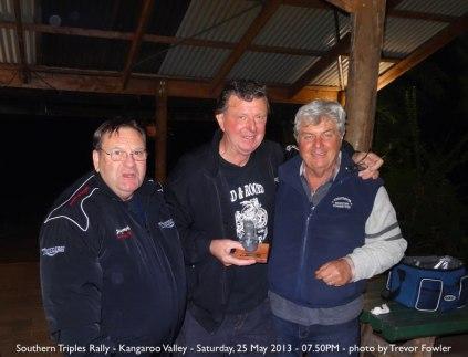 Southern Triples Rally - Kangaroo Valley - Saturday, 25 May 2013 - 07.50PM