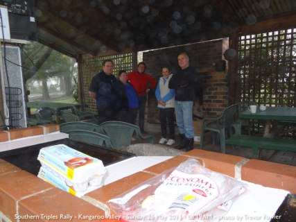 Southern Triples Rally - Kangaroo Valley - Sunday, 26 May 2013 - 08.19AM