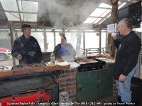 Southern Triples Rally - Kangaroo Valley - Sunday, 26 May 2013 - 08.31AM