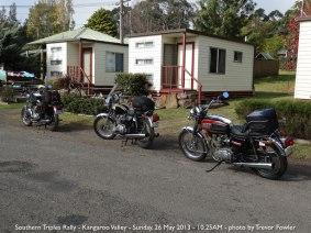 Southern Triples Rally - Kangaroo Valley - Sunday, 26 May 2013 - 10.25AM