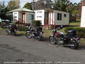 Southern Triples Rally - Kangaroo Valley - Sunday, 26 May 2013 - 10.25AM