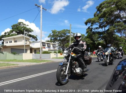 TMRA Southern Triples Rally - Saturday, 8 March 2014 - 01.17PM