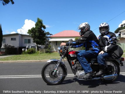TMRA Southern Triples Rally - Saturday, 8 March 2014 - 01.18PM